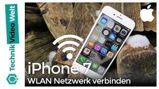 iPhone 7 WLAN Netzwerk verbinden