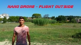 Video Outside flight with Hubsan NANO Q4 Drone PiP download MP3, 3GP, MP4, WEBM, AVI, FLV Desember 2017