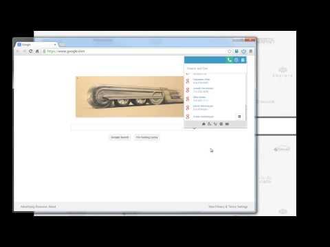 BluIP Xtended Dialer for Google Chrome on Broadsoft Broadworks Platform