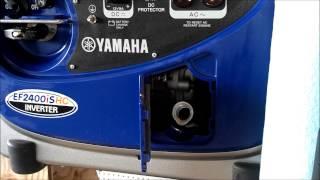 Yamaha Generator EF2400iSHC - Oil Change