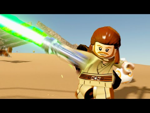 Lego Star Wars The Force Awakens All Qui Gon Jin Abilities How To