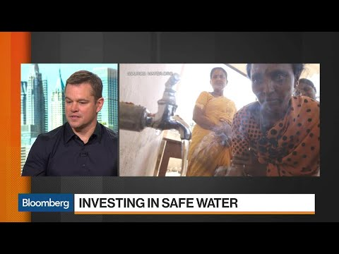 Matt Damon Says There Are Solutions to the Global Water Crisis