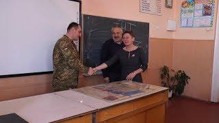 У Берегівських гімназії та першій школі пройшли уроки військово - патріотичного виховання