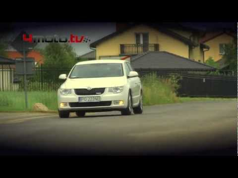 Skoda Superb Greenline - video test - 4motoTV