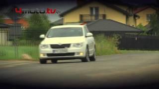 Skoda Superb Greenline - video test - 4motoTV