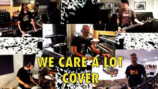 Anthrax, Korn, Mastodon, Men Without Hats, Refused, Run DMC, Filter and more cover We Care a lot!