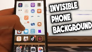 How to make an invisible background on ios to impress your friends !!! screenshot 3