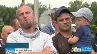 Ingrandes-sur-Vienne : les salariés lèvent le blocus de la fonderie fonte