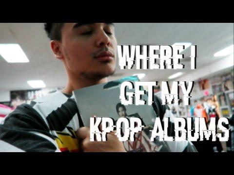 WHERE I GET MY KPOP ALBUMS |  VLOG #5
