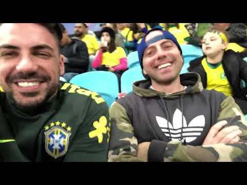Kiko, Gui E Roberta (Brasil X Paraguai _ Copa América 2019)