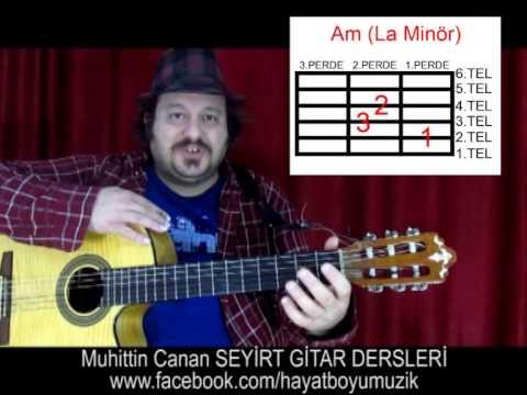 Gitar Dersi 1 (Ritim Akor) Giriş