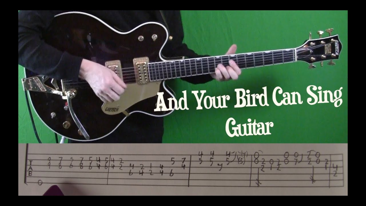 and your bird can sing tab pdf
