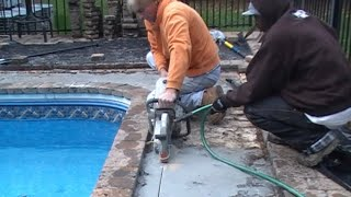 Downspout Drain, French Drain, Pool Deck Catch Basins, Crawl Space Sump Pump. How To For Homeowners