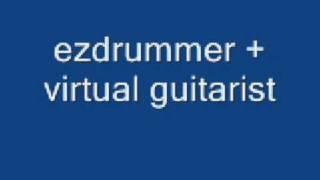 ezdrummer+virtual guitarist