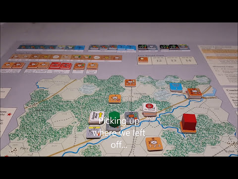 Barbarossa Army Group North: Learning Scenario Part 2 GMT Games