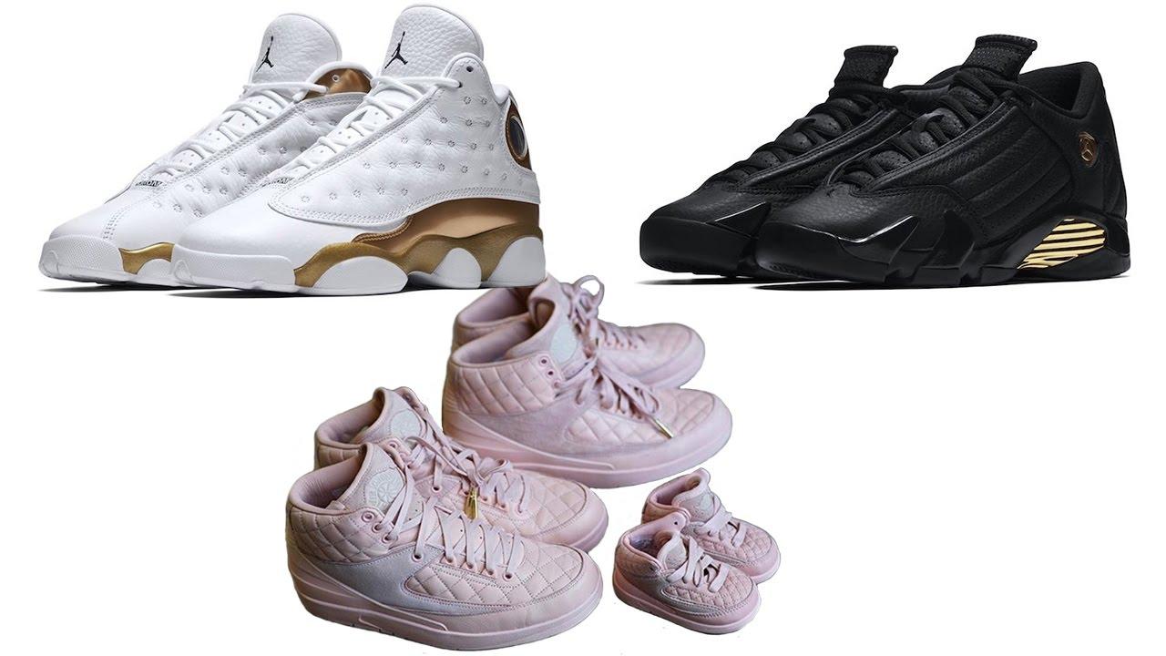 Air Jordan FINALS Pack Release Info, JUST DON Air Jordan 2 Sizing and More