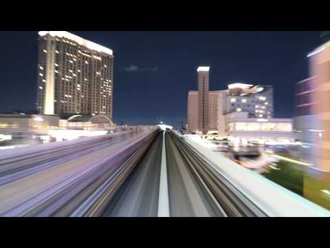 Tokyo Sky Train Time Lapse (Hypnotic)