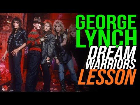 Dokken Dream Warriors, Rhythm Guitar Lesson, George Lynch - Lynch Lycks S3 Lyck 43