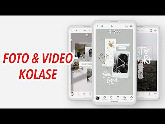 Cara Buat Foto & Video Kolase Keren di Android