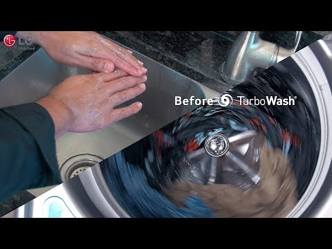 LG Top Load Washer - TurboWash™ (2018 Update)