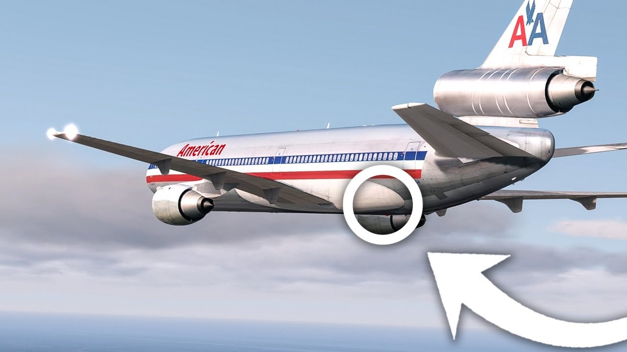 This Plane Was About to Crash  Why Didn't It? American Airlines Flight 96