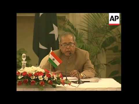 Presser by foreign ministers of India, Pakistan, comment on sinking of Thai trawler