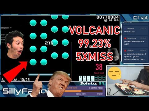 MY ACCURACY WAS NUTS IN THIS PLAY   VOLCANIC 9923% 5XMISS
