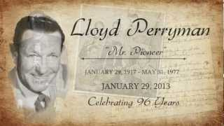 The Lillies Grow High --Lloyd Perryman and the Sons of the Pioneers YouTube Videos