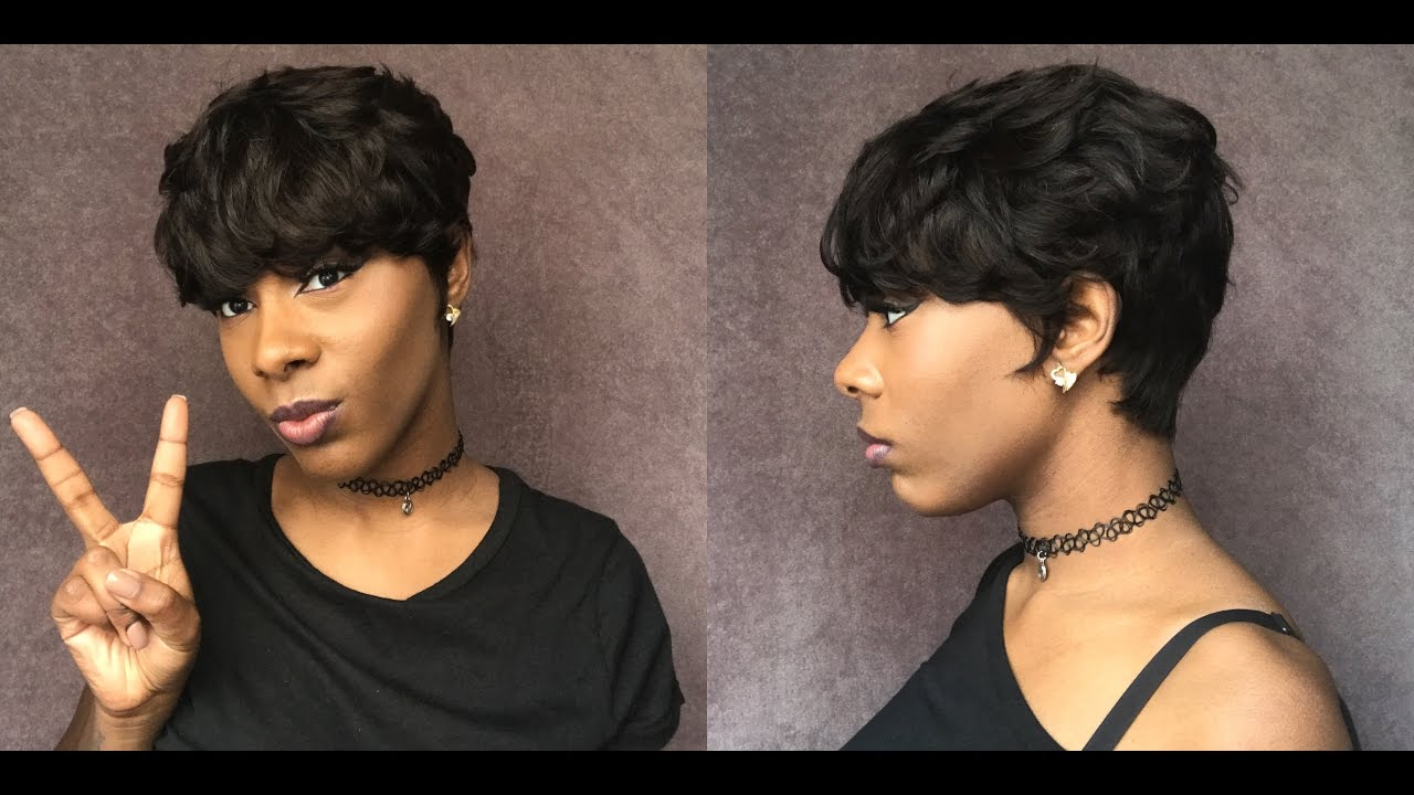 sensationnel human hair bump collection wig - easy 27 * hair so fly *