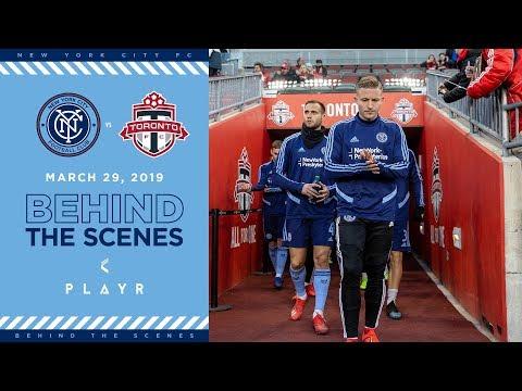 BEHIND THE SCENES | NYCFC vs. Toronto FC | 03.29.19