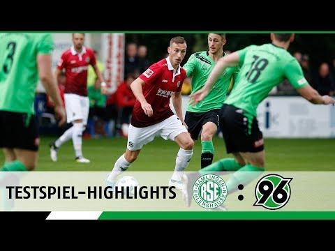 Testspiel-Highlights   SV Ramlingen/Ehlershausen - Hannover 96