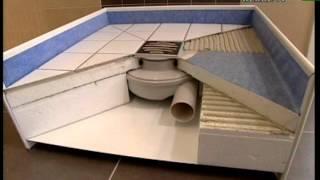 play fliese auf fliese anleitung f r das verfliesen einer dusche. Black Bedroom Furniture Sets. Home Design Ideas