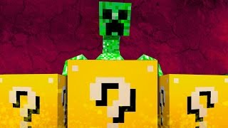 "CREEPER MUTANTE - ""Desafío de la Suerte"" - #3 Lucky Blocks"