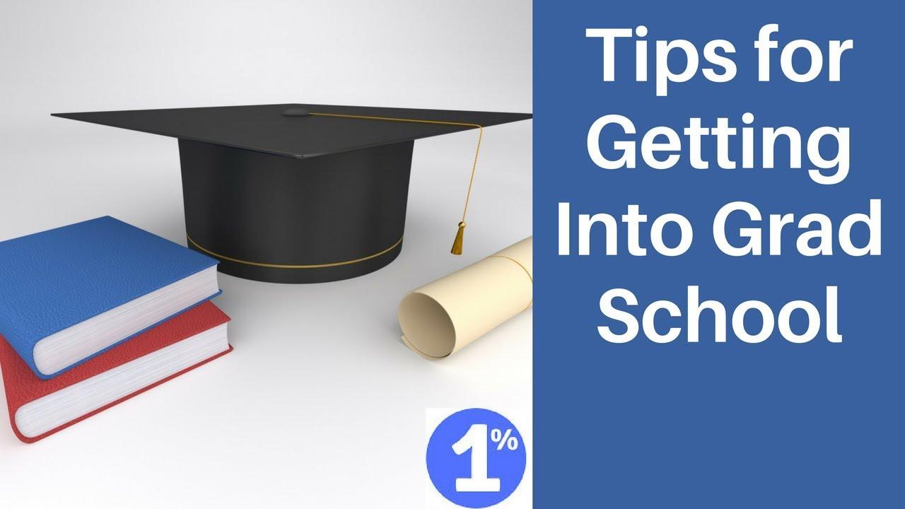How to Get Into Graduate School photo