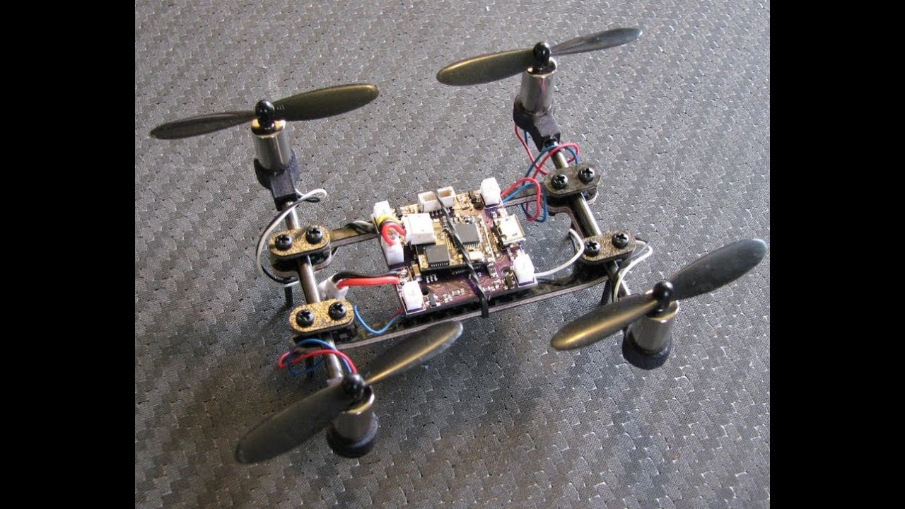 the variable quadcopter frame meets alienquads flight controller and chaoli 85mm motors