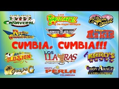 Cumbia,Cumbia: Askis, Cañaveral, Yaguarú, Ángeles Azules