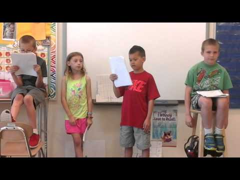 The Perfect Job- third grade play