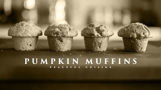 [no Music] How To Make Pumpkin Muffins