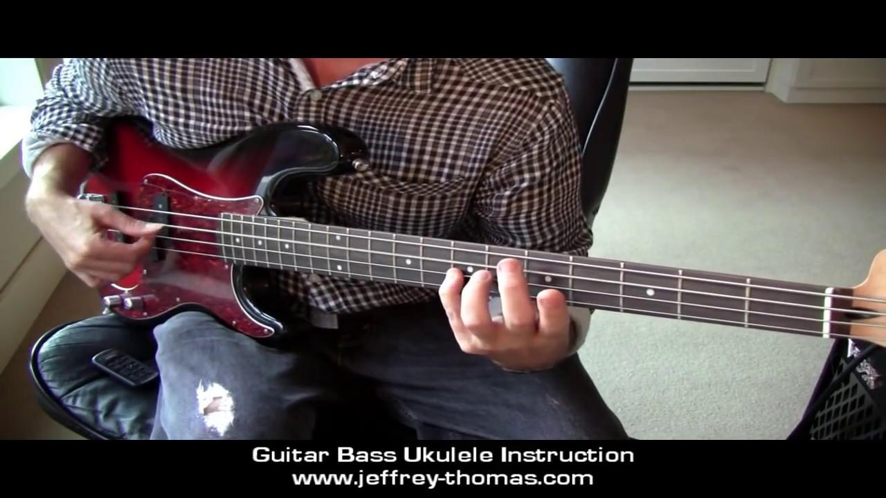motown bass bass signature lick