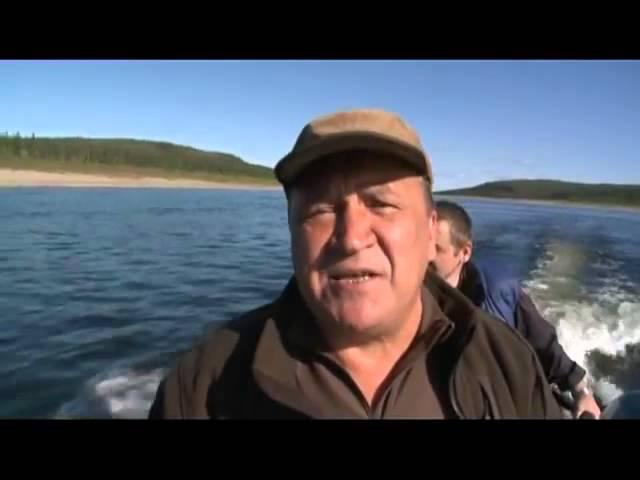 Рыболовные приключения полотно и карманова
