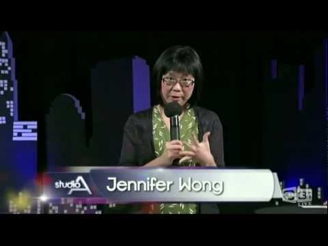 Jennifer Wong - Stand Up Comedy on Studio A, Channel 31 in Melbourne 2011