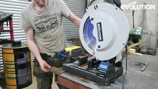 Evolution Evosaw355 : Jack from Metal & Dust Furniture Tool Review!