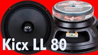 Kicx LL 80, распаковка, обзор, прослушка и сравнение
