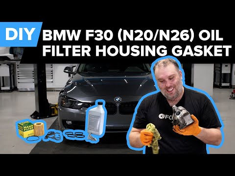 BMW N20 and N26 Oil Filter Housing Gasket Replacement DIY (BMW F30 328i, X5, Z4, & More)