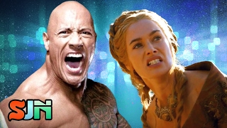 The Rock Tags In Cersei Lannister For WWE Family Biopic