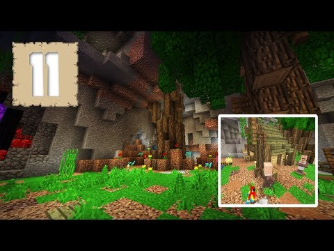 enchanted-gardens-&-hidden-temples!---survival-let's-play-ep.11---minecraft-1.2
