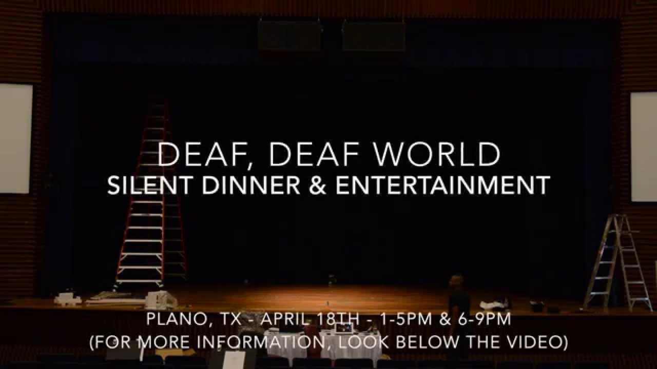 Deaf world знакомство