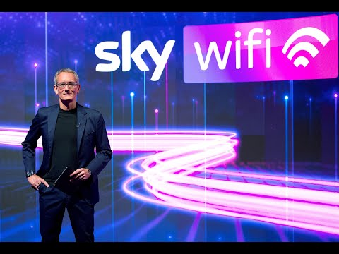 È nato Sky Wifi, il servizio ultra broadband di Sky