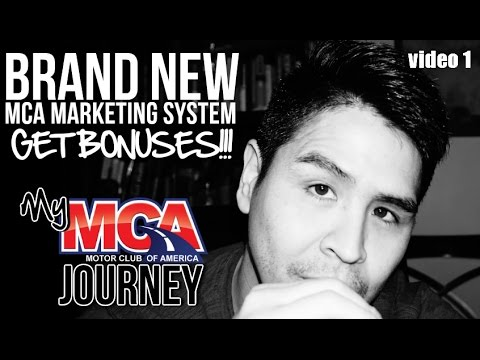 MCA Motor Club Of America Review - Scam? BONUSES Proof Benefits Compensation Plan 2017