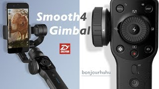 ZHIYUN Smooth 4 Gimbal Review